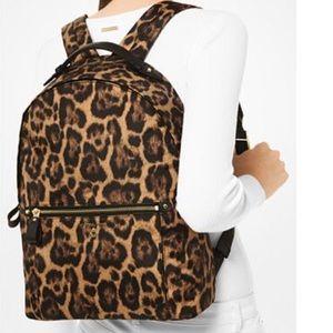 •SALE• Michael Kors Cheetah print Nylon backpack
